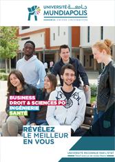 Brochure Mundiapolis Universite