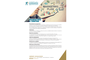 Brochure Marketing et Ventes Mundiapolis